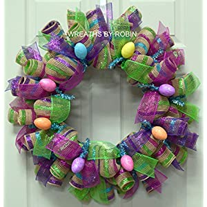 Farmhouse Glam Easter Wreath, Easter Wreath (3880) 41