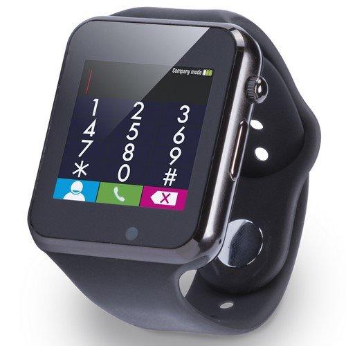 Reloj Inteligente KAPEL- para niños- Regalo Hombre- Reloj Digital en Elegante diseño Negro Cn Android-smartwatch niños- Watch-Smart wacht- Reloj de Hombre: ...