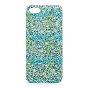 Waves iPhone 5s 3D wrap around Case - Design 6
