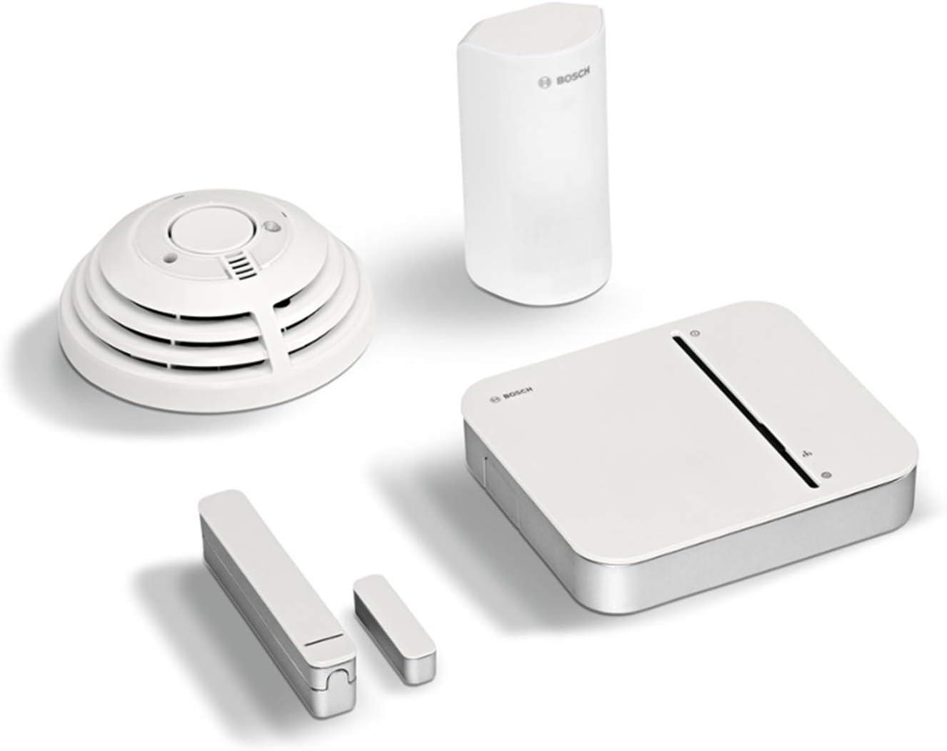 Bosch Kit sécurité connectée Smart Home (Alarme anti-intrusion et anti-incendie connecté, livré...
