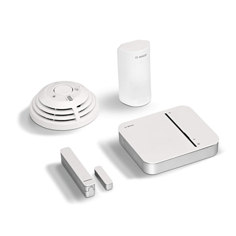 Versi/ón para Francia color blanco Kit de inicio de seguridad Bosch 230/V Set de 4/piezas