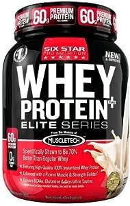 Six Star Pro Nutrition Elite Series Whey Protein Powder 2lb ...