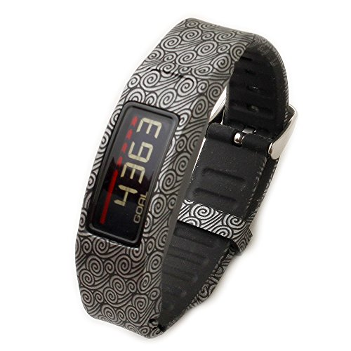Greatfine Armband for Garmin Vivofit 2 Armband Fitnessband mit Chrom Uhrschnalle for alle ( Yun )