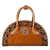 QZUnique Women's Chinese Ethnic Style Handbag Cambered Shoulder Bag Crossbody Satchel
