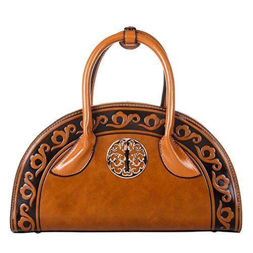 QZUnique Womens Chinese Ethnic Style Handbag Cambered Shoulder Bag Crossbody Satchel