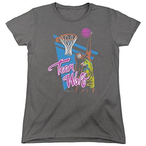 Women's Teen Wolf Slam Dunks Classic T-Shirt