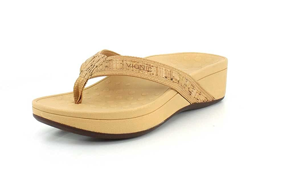 or Cork Vionic femmes 380 Hightide Pacific Leather Sandals