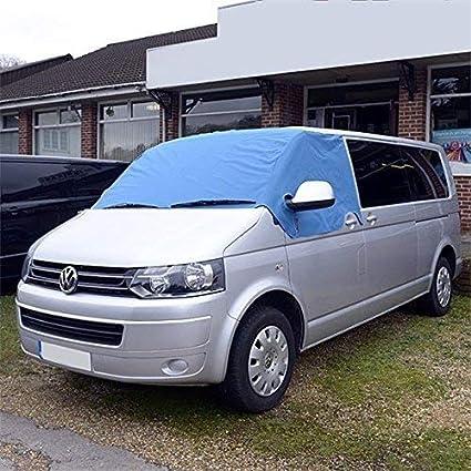 Amazon.es: Tela protectora para el parabrisas para furgonetas VW T5 T6, color azul