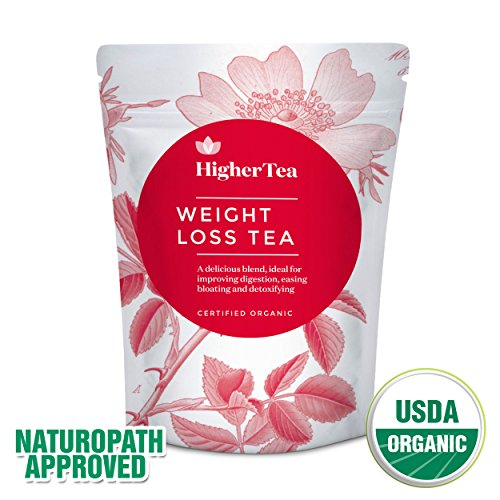 14 Day Weight Loss & Skinny Teatox Body Cleanse. Reduce Fat & Bloating. 100% Organic & Natural. Appetite Suppressant Green Leaf Herbal Blend for Healthy Liver, Slimming, & Skinny Belly Diet (Herbal Peony Tea)