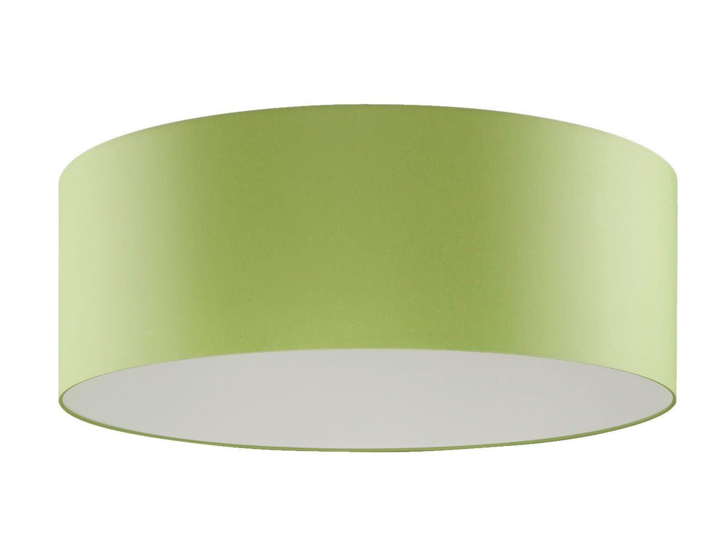 Plafoniera Tessuto Grande : Grandi led plafoniera shine loft Ø 100 cm tessuto paralume verde