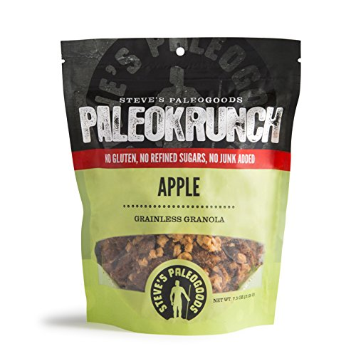 Crunch Granola Cinnamon (Steve's PaleoGoods, PaleoKrunch Granola Apple Pie, 7.5 oz)