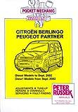 Pocket Mechanic for Citroen Berlingo 1 and 2 / Peugeot Partner 1996 to 2004