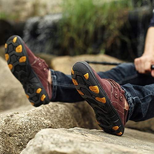 ハイキングシューズ メンズ 防水 防滑 トレッキングシューズ スリッポン ラウンドトゥ 耐摩耗ソール ウォーキングシューズ キャンプ シューズ スポーツ 通気性 カジュアル スニーカー快適 歩きやすい登山靴