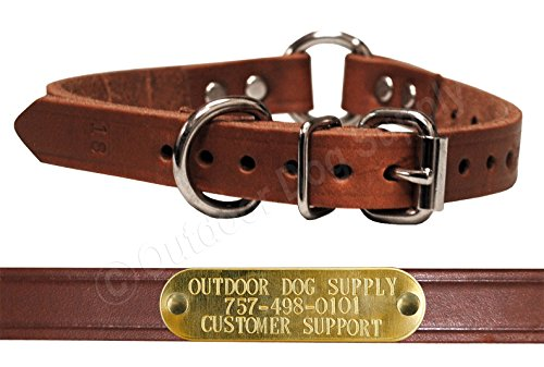 Leather Nameplate (Leather 23