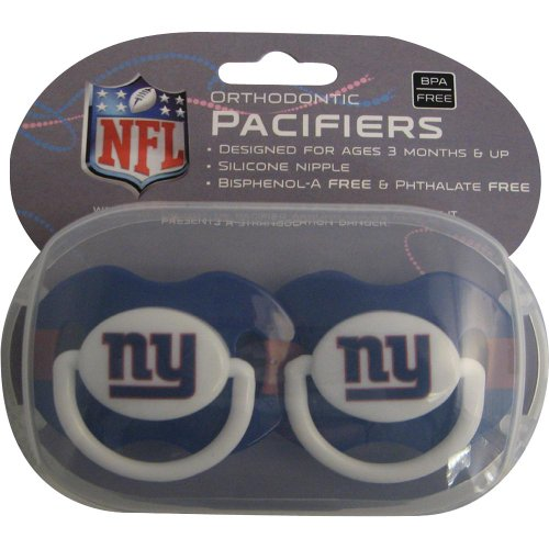 York Giants Pacifier Discontinued Manufacturer