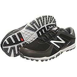 New Balance Men's Minimus Golf Shoe, Black, 12 D Us