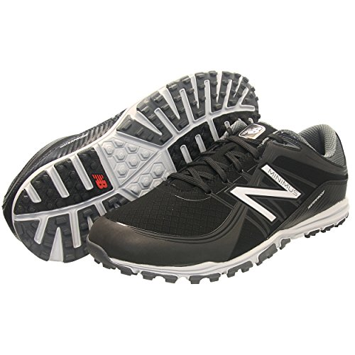 New Balance Men's Minimus Golf Shoe, Black, 11.5 D US