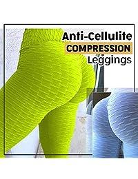 Colorcasa Last Day Anti-Cellulite Compression Leggings 2019 Black