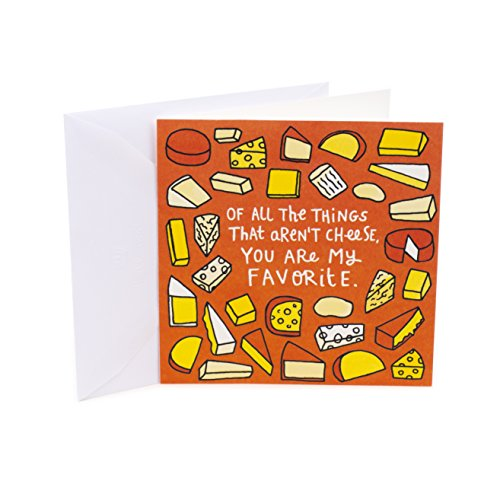 Hallmark Studio Ink Birthday Greeting Card (You Are The Gouda)