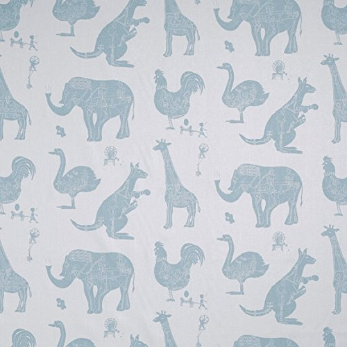Paperboy Wallpaper How It Works' (Bluey) Lampshade, White and Blue: Amazon.co.uk: Lighting