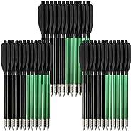 "Mini Crossbow Bolts Pistol Crossbow Arrows 6.3"" Steel Tips 50-80lbs Hand Cross Bow"
