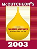 McCutcheon's Emulsifiers and Detergents Vol. 1 : International Edition, , 0944254918