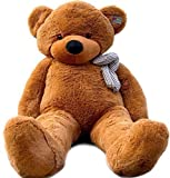 Joyfay 78'' Giant Teddy Bear Dark Brown Valentine's Gift