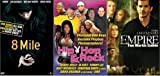 {3 DVD PACK} 8 Mile (Full Screen Edition with Censored Bonus Features) (2002) / Hip Hop & Rock (2003) / Empire (2002)