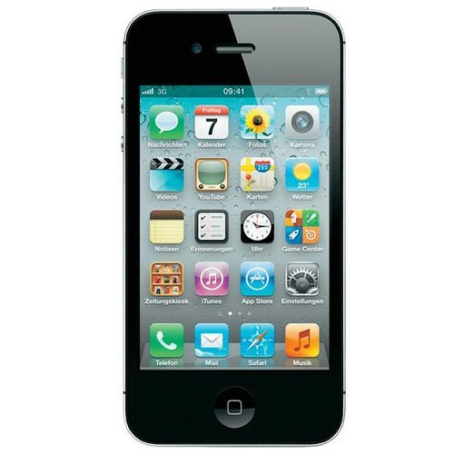 Apple iPhone 4 8GB GSM 3G Black - Unlocked by Straight Talk