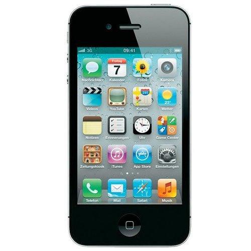 Apple iPhone 4 8GB GSM 3G Black - Unlocked by Straight Talk (Image #1)