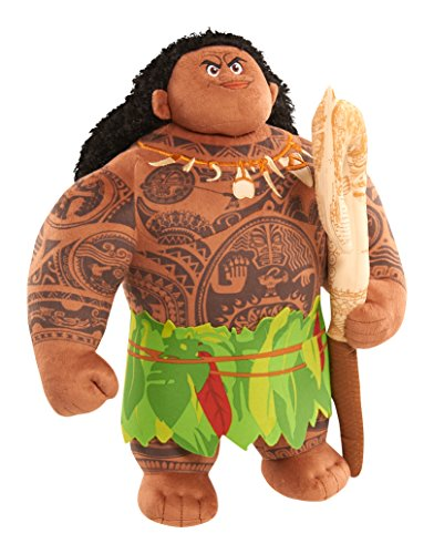 Just Play Moana Talking Maui felpa, grande