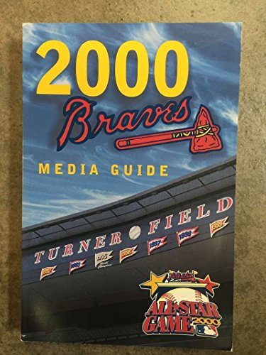 ATLANTA BRAVES MLB BASEBALL MEDIA GUIDE 2000 EX+