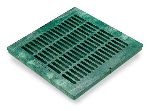 Rainbird Plastic Square Flat Grate, Green, 18