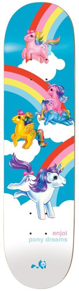 Enjoi HG 10017717 My Little Pony Dreams Multi Deck Skateboard, Multi, Size 8.125