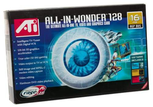 ATI Technologies Inc. All-in-Wonder 128 AGP 16MB