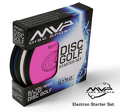 MVP Disc Sports 3-Disc Electron Disc Golf Starter Set [Colors and Models may vary] by MVP Disc Sports