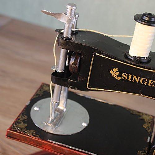 GONGYIPIN Vintage máquina de Coser Modelo Home Decor Limpiar Ropa ...