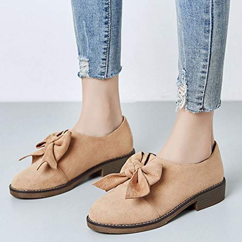 Bow On Apricot Brogue Scarpe Lydee Slip Dolce Donne qHnpExwg4B