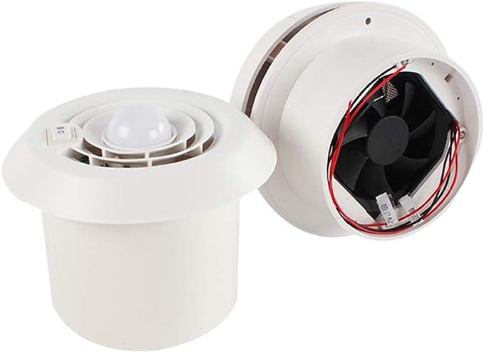SAXTEL Ventilador de Escape para Techo de Caravana, 12 V, Rejilla ...