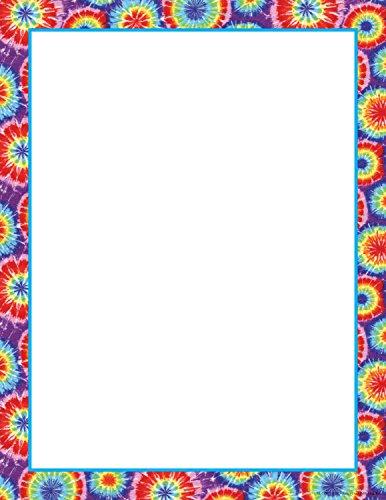 Tie Dye Paper (Barker Creek 8-1/2 x 11