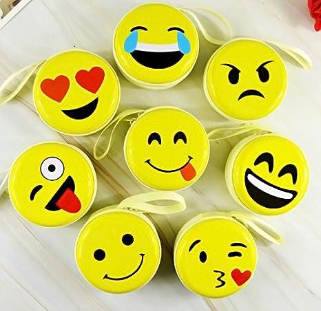 Emoji Smile Face Headphone Earphones Gift Boxed