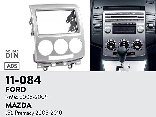 UGAR 11-084 Trim Fascia Car Radio Installation Mounting Kit for FORD i-Max 2006-2009 / MAZDA (5), Premacy 2005-2010
