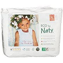 Nature Babycare Eco-Pull On Pants Size 5, 20 Count (Pack of 4)
