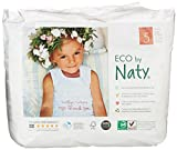 Eco by Naty Pull On Pants, Size 5, 4 packs of 20 (80 Count)