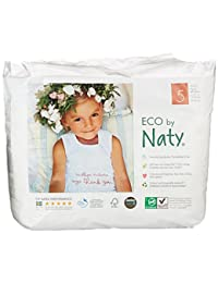 Nature Babycare Eco Pull On Pants, Size 5, 26-40lbs (80 Count) BOBEBE Online Baby Store From New York to Miami and Los Angeles