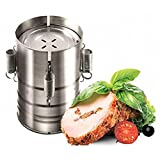 Sacow Ham Press Maker, Round Shape Stainless Steel Ham Press Maker Machine Seafood Meat Poultry