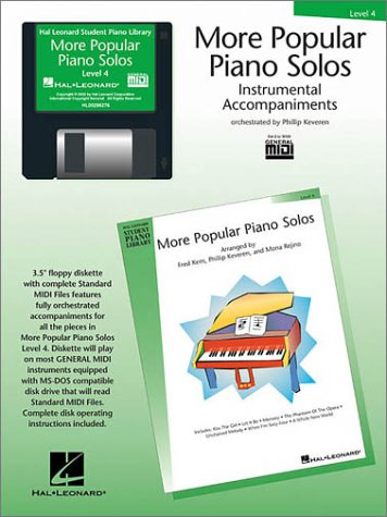 More Popular Piano Solos - Level 4 - GM Disk (Hal Leonard Student Piano Library (Audio))