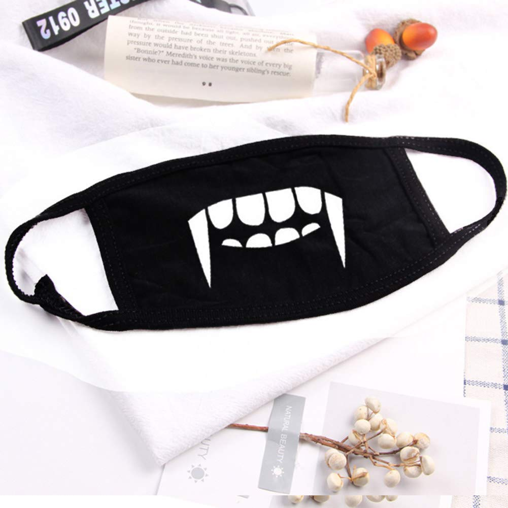 Tofree Cute Mouth Face Mask Anti-Dust Anti-Wind Cotton Mouth Face - Outdoor Cycling Walk Sport - Unisex
