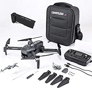 Flashandfocus.com 51PSVW3IWpL._SS300_ Drone X Pro LIMITLESS 3 GPS 4K UHD Camera Drone for Adults with EVO Obstacle Avoidance, 3-Axis Gimbal, Auto Return Home…