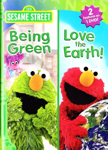 Elmo Being Green , Elmo Love The Earth : Sesame Street Double (Sesame Street Being Green)